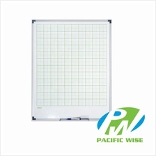 MAGNETIC GRAPH BOARD (GWB34G) Green Grid-4' x 3'
