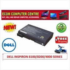 DELL INSPIRON 8100/8200/4000/LATITUDE C640 SERIES LAPTOP BATTERY