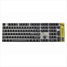 # DUCKY PBT Double Shot Backlit Full Size Keycap Set # Black Color