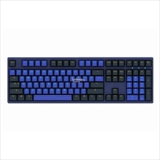 # DUCKY PBT Double Shot-Horizon Full Size Keycaps # Black & Navy Blue