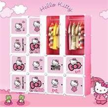 NEW HELLO KITTY WARDROBE - 16 CUBE