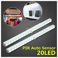 20 LED Motion Sensor Automatic On/Off Battery/Rechargeable Light