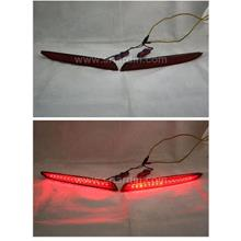 Mazda 3 09-13 Red LED Rear Bumper Reflector
