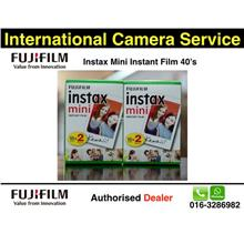 Mark Down Price!!FUJIFILM Instax Mini Film 2 BOXES Twin Pack(40sheets)