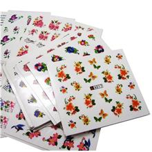 B) Fancy DIY Nail Art Stickers 50 sheets /lot (Different Designs)