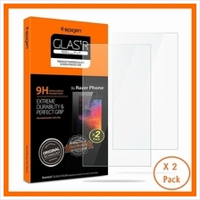 Original Spigen Razer Phone Tempered Glass x 2 screen protector