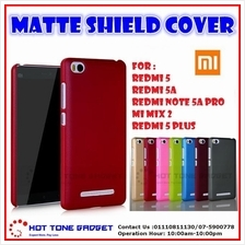Xiaomi Redmi 5A 5 5A Pro 5Plus Mi Mix 2 Matte Shield Back Case Cover C