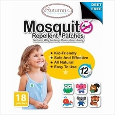 Autumnz Mosquito Repellant Patches 18-Piece