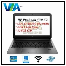 Refurb HP ProBook 430 G2~Core i3 40 (end 9/29/2021 12:00 AM)