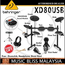 Behringer XD-80USB 5piece Electronic Drum Set w/Free Shipping(XD80USB)
