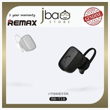 Remax RB-T18 MIC Mini Light Weight Bluetooth Earphone Headset T18 acou
