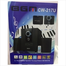 BGM 2.1Multimedia Speaker System With USB/SD/FM