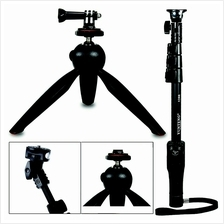 Yunteng Selfie Monopod Tripod For Smartphone Action Camera