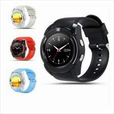 V8 Round Full screen touch screen smart watch camera sim card sd card