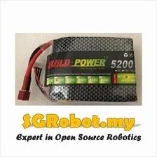 11.1V 30C 3S 5200mah Lipo Li-Po Rechargeable Lithium Battery