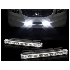 2 pcs 8 LED Car DRL Daytime Running Light Daylight Head Lamp