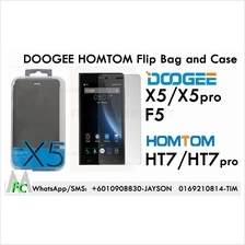 Doogee X5 Pro Homtom 7  HT7 F5 Flip Tpu Case Cover Tempered Glass Bag