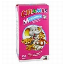 Champs M Multivitamin for Kids (Strawberry) 100 Tabs