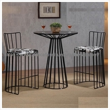 Stylish Round Table And Stools Set YGRDS-11040T11041C KL