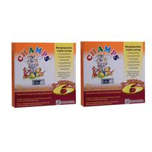 Champs D Worms 2 Tablets X 2 box(De-Worm/ Buang Cacing)