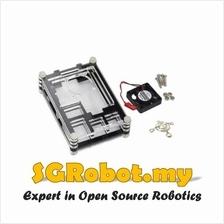 Raspberry Pi 3 B B+ 9 Layer Acrylic Casing With Fan
