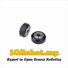 BX24 Plastic Roller With Twin Bearing For CNC 2020 / 3D Printer