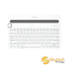 Logitech Bluetooth Multi-Device Keyboard K480 - White - AP