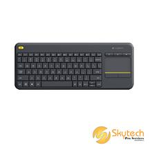 Logitech Wireless Touch Keyboard K400 Plus - Black - AP