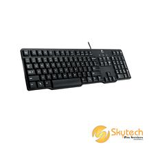 Logitech Classic Keyboard K100 - PS/2 - Black - FE
