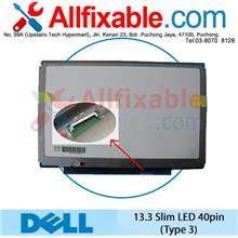 "13.3"" Slim LED LCD 40pin (type 3) Screen For Dell Latitude E4300"