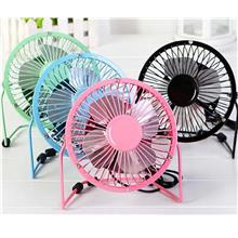 Mini USB Metal Fan (4 Inch/6 Inch) Super Cooling/Extra Strong Wind