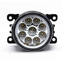 6000K High Power LED Fog Lights Driving Lamps with 9pcs SMD White LED ..