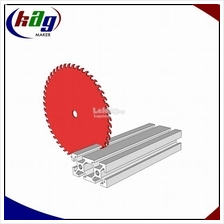 Custom-Length Cuts Aluminium Profile T-Slot 20x40 / 10mm