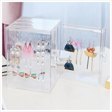 eBosses Acrylic Jewelry Storage Box Earring Display Hanging Stand Orga