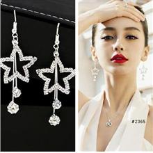 563486139591 Long earrings Crystal zircon