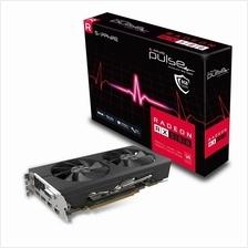 SAPPHIRE ATI RX 580 8GB GDDR5 256BIT PULSE OC W/BP (UEFI)