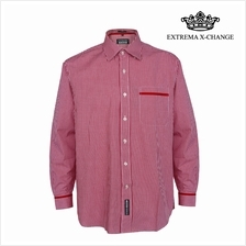 EXTREMA BIG SIZE Checked Shirt EXP9306 (Red)