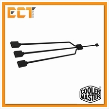 Cooler Master 1-To-3 RGB Splittter Cable LED Strips, RGB Case Fans, 5
