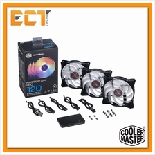 Cooler Master MasterFan Pro 120 Air Balance RGB 3 in 1 Casing Fan with