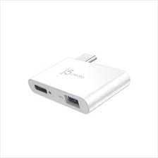 J5 CREATE TYPE-C CHARGING BRIDGE USB HUB (JCH349-1O)
