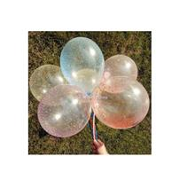 20pcs 12' Latex Balloons Filled with Multicolour Confetti Foam