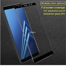 Samsung A8 / A8 Plus 2018 Imak 9H Full Coverage Tempered Glass