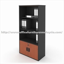 Office Cabinet with Glass Doors OFAG1642 | Office Furniture Malaysia