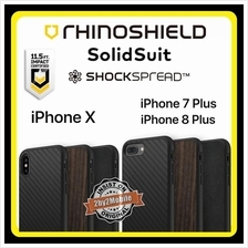 Original Rhinoshield SolidSuit iPhone X / iPhone 7 Plus 8 Plus case