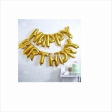 16 Inch 13pcs/lot Happy Birthday Letter balloons Party Decoration Foil
