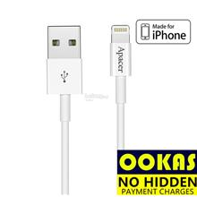Apacer DC210 MFI Lightning to USB 2.4A Apple iPhone iPad Cable 1M