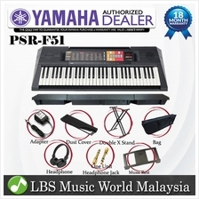 Yamaha Psr F51 Electronic Portable Keyboard Full Package Psrf51 Psr Best Price In Malaysia