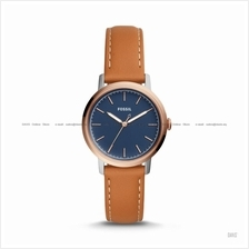 FOSSIL ES4255 Women's Neely 3-hand Interchangeable Leather Blue Brown