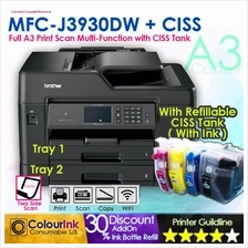Brother MFC-J3930dw A3 Print Duplex A3 Scan Wifi Network Printer + CIS