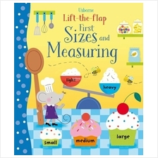 Usborne Lift-the-flap First Sizes & Measuring